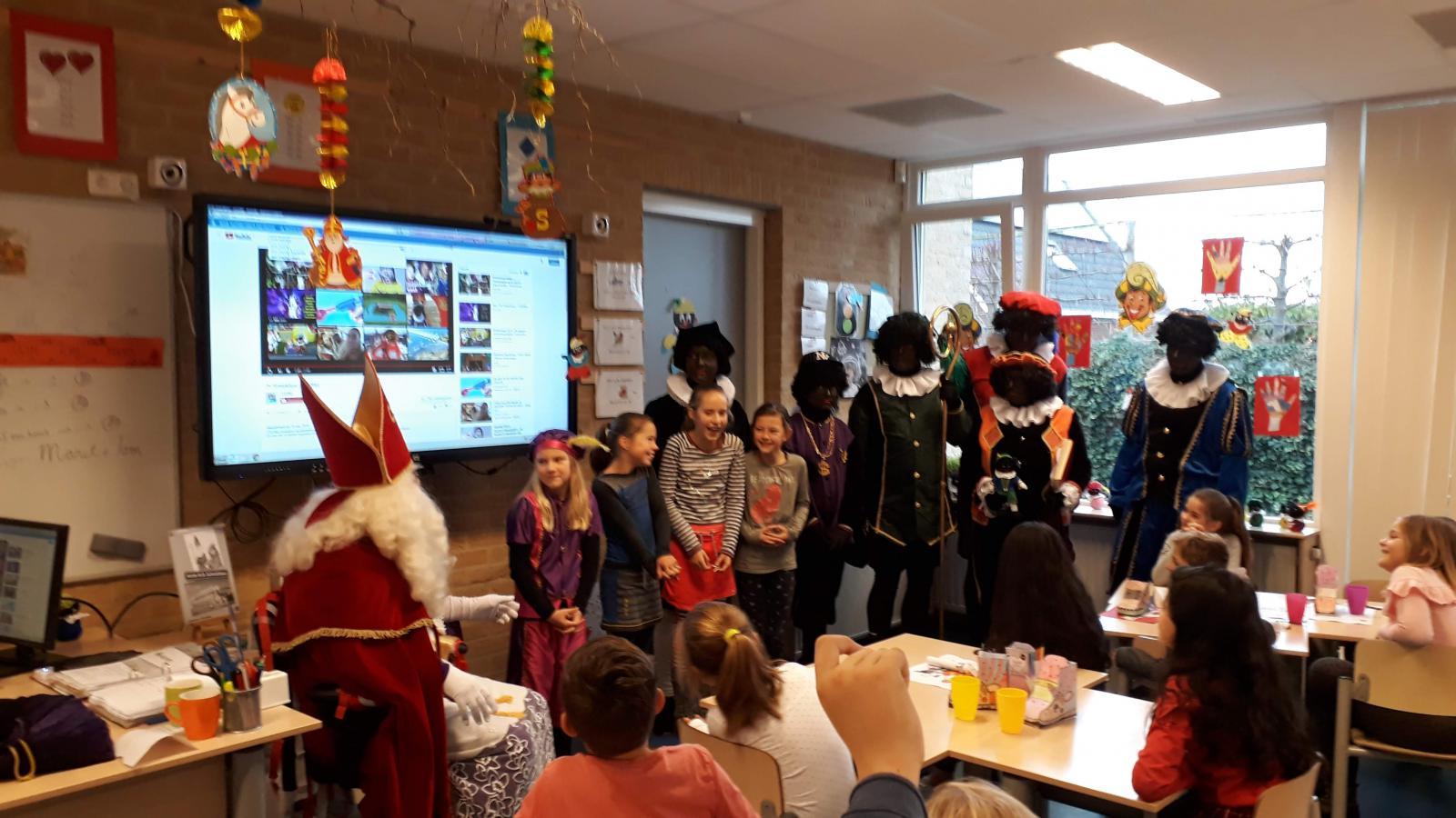 Sinterklaasfeest groep 5/6 2018
