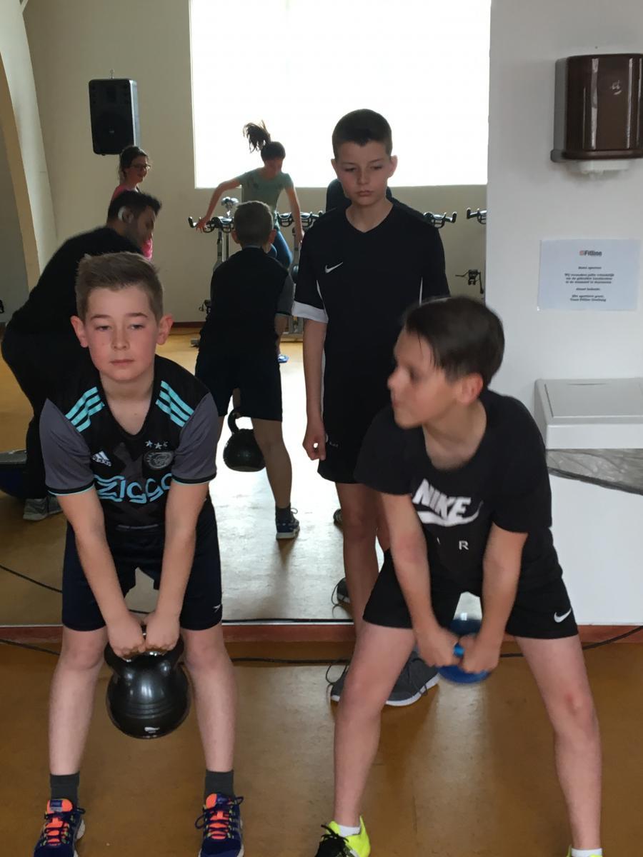 Fitness (groep 7/8)